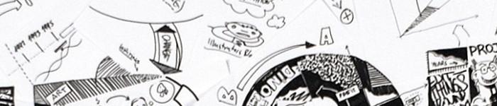 La démarche créative : Les esquisses et maquettes de logo