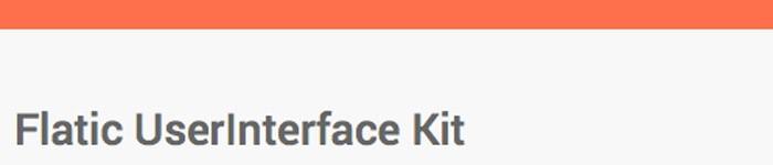 User Interface Kit pour vos Design Web