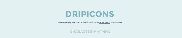 Dripicone, des icônes pour vos interfaces iOS