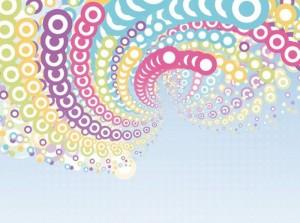 Composition en cercle et spirale