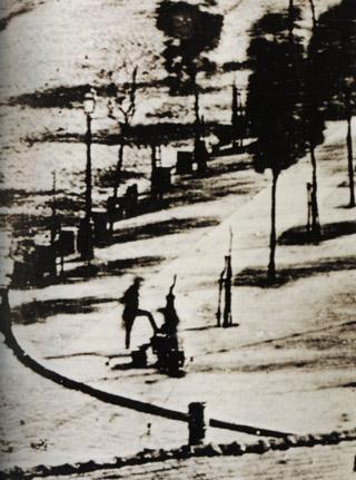 Photographie : Boulevard du Temple de Louis Daguerre 1838