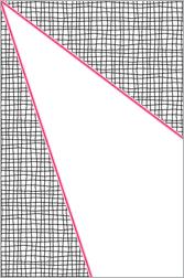 Angle fort gauche