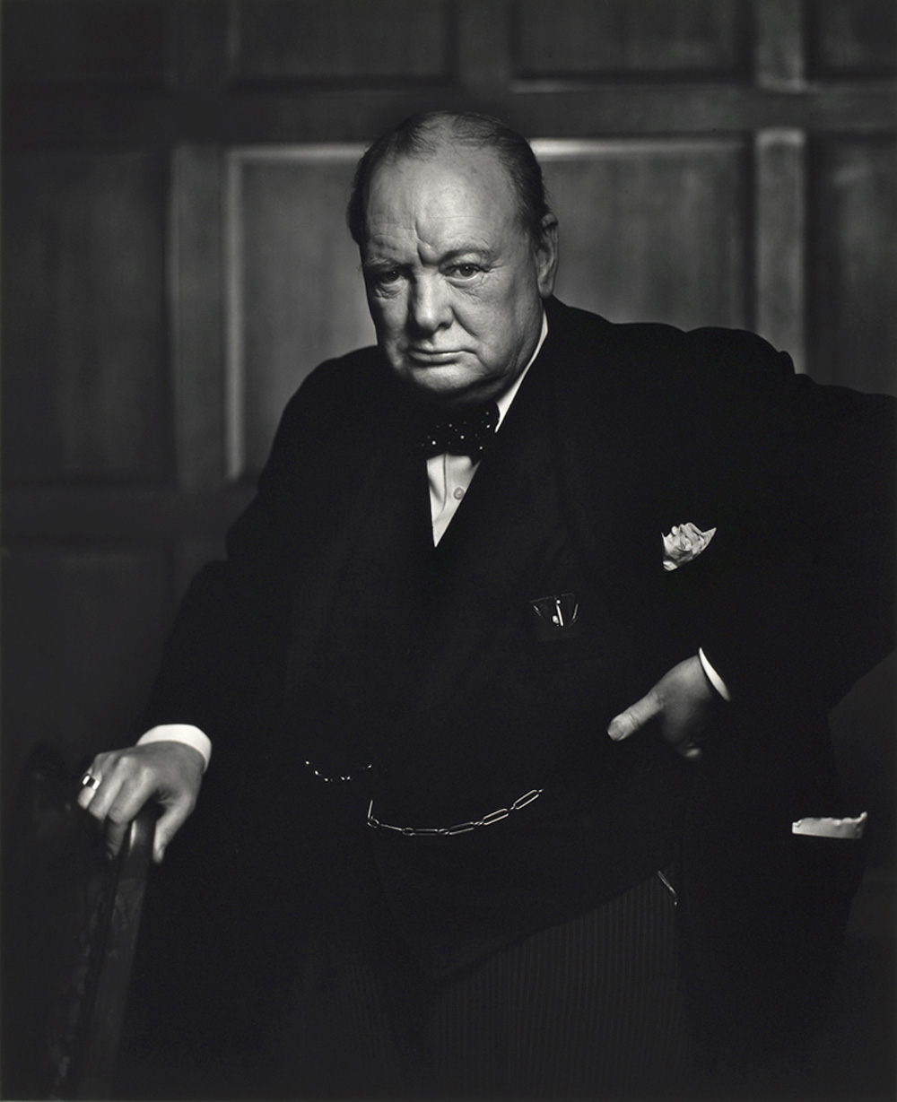 Winston Churchill par Yousuf Karsh
