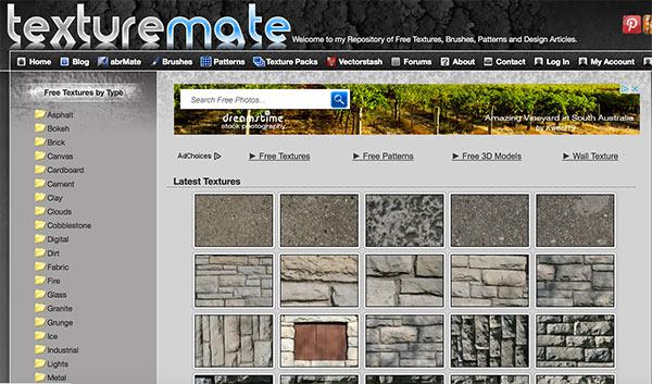 Banque de texture www.texturemate.com