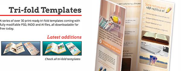 templateDepliant